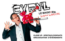Cyryl magicien de close-up (Paris)